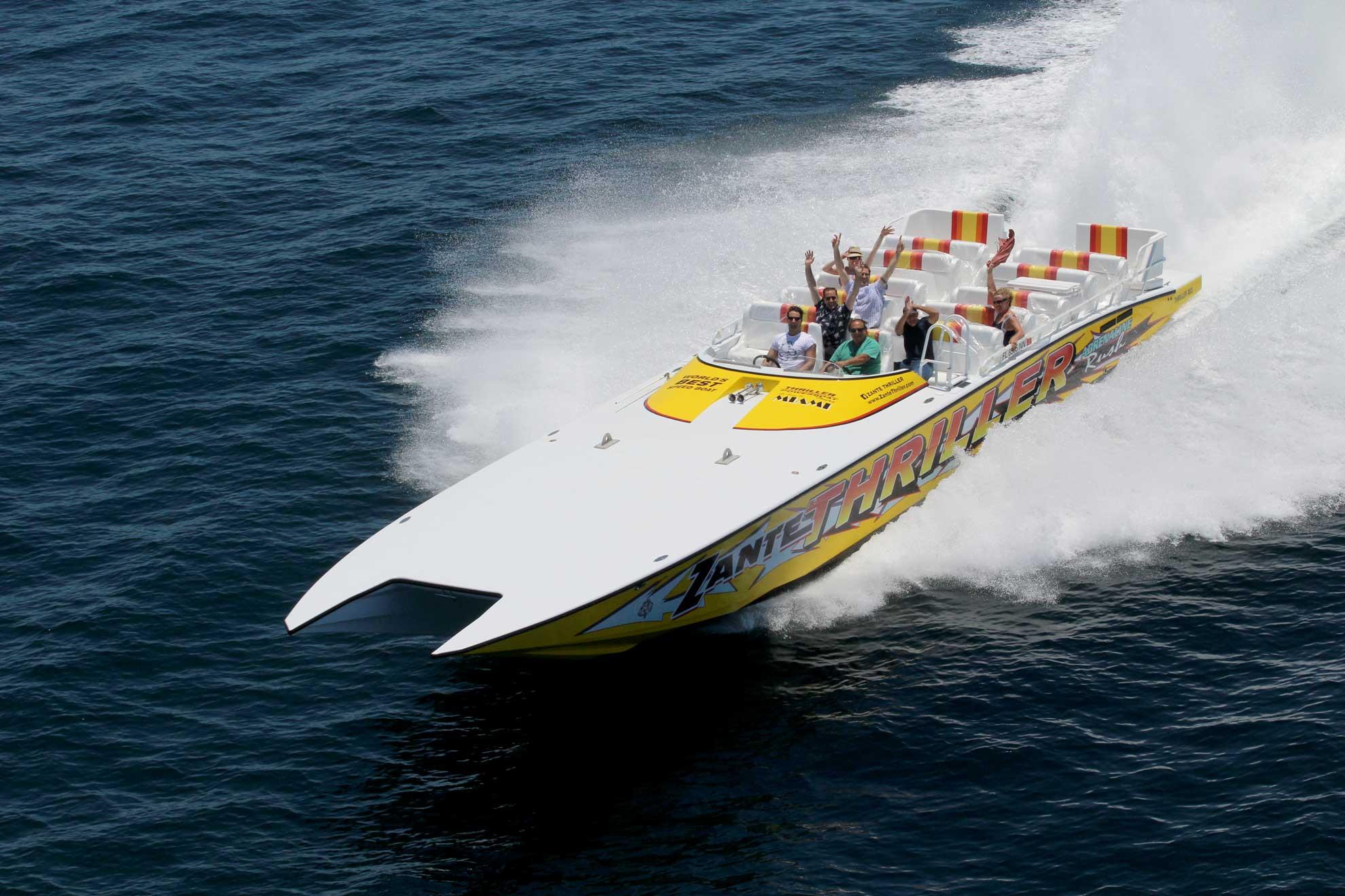 Thriller Boat Tour